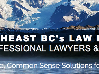 Rockies Law - New Office Location in Creston, BC.