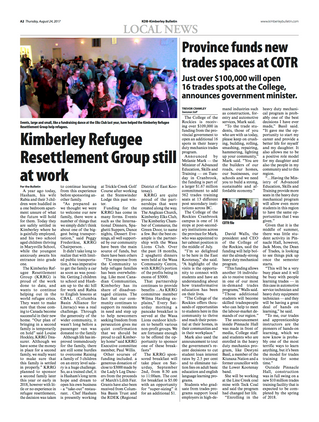 Kimberley Refugee Resettlement Group Still At Work.