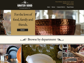 Beautiful Online Presence That Reflects Your In-Store Atmosphere.