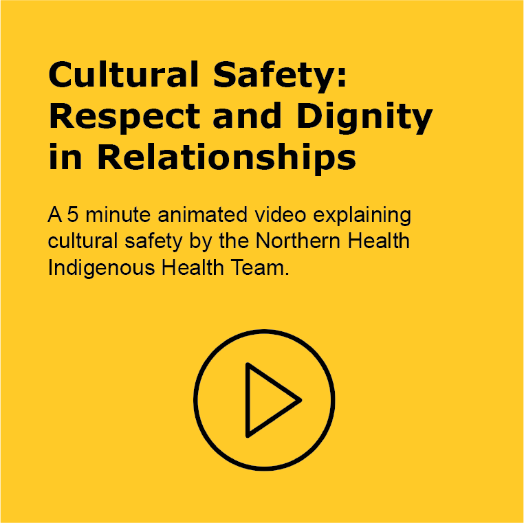 Cultural Safety: Respect and Dignity in Relationships