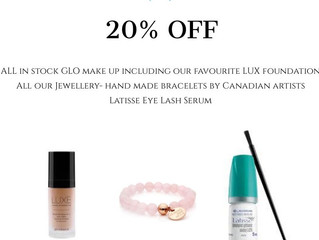 Black Friday starts on Wednesday at Skin Dynamics. Amazing discounts, free gifts & great product