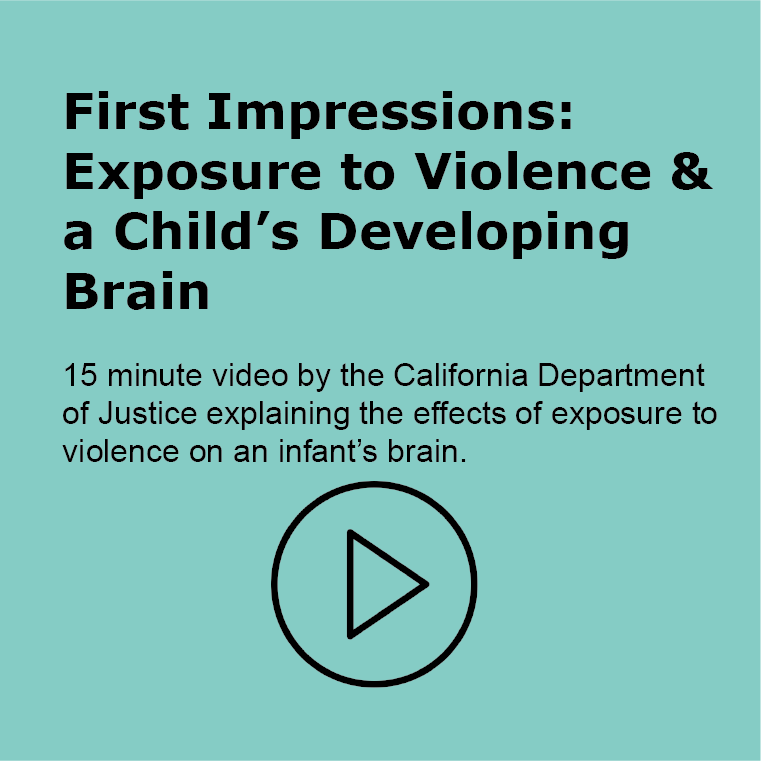 First Impresssion - Exposure to Violence and a child's developing brain