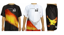 DEAL ALERT! $99.00* Full Body Custom Sublimation. Two (2) Jerseys & One (1) Pair of Shorts With