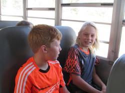 Bus to Fernie Track Meet
