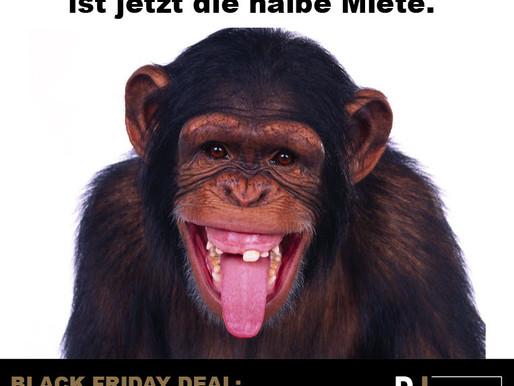 Black Friday Deal: Wir schenken Ihnen bis zum 31.12.2019 eine Nettokaltmiete