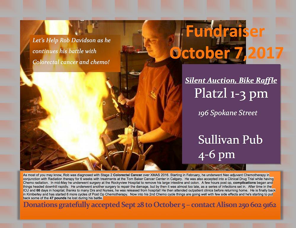 Rob Davidson Fundraiser
