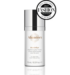 AluminEye: medical eye cream for lines, puffiness and brightening