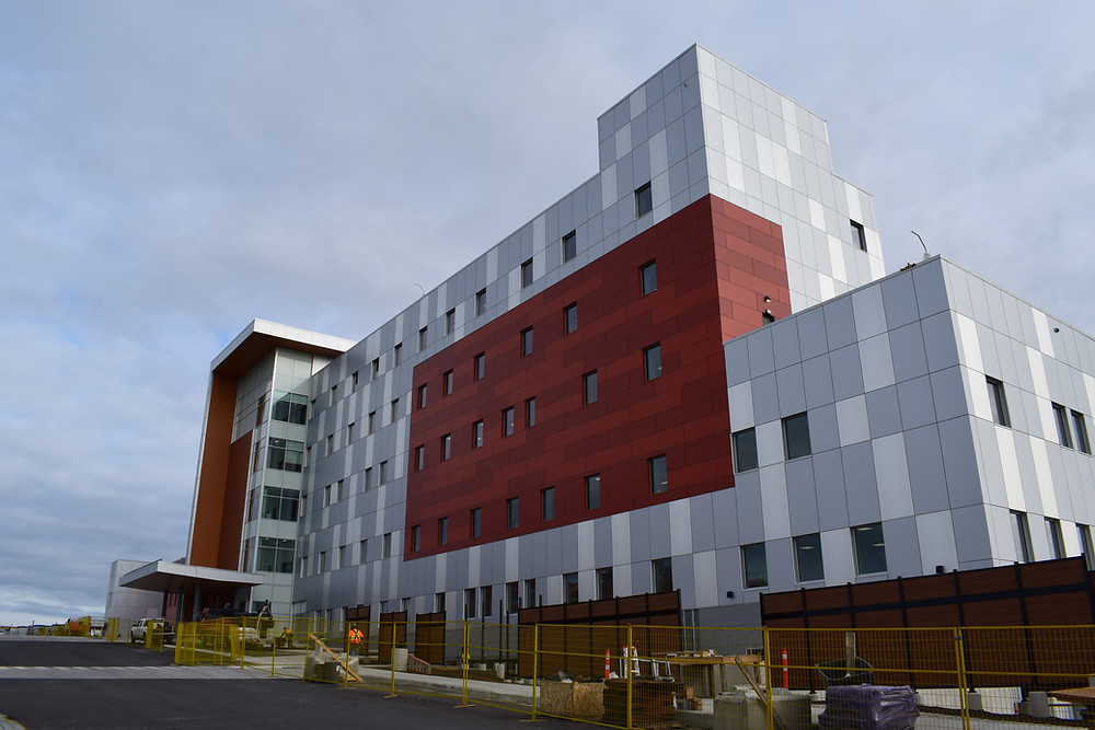Louvers supplier and contractor in Western Canada Stanton Yellowknife Hospital