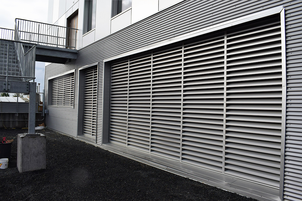 Louvers sunshade supplier and contractor Western Canada  InterCoast
