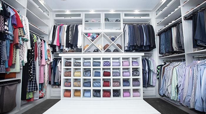 Standard Closet Transformation $125.00