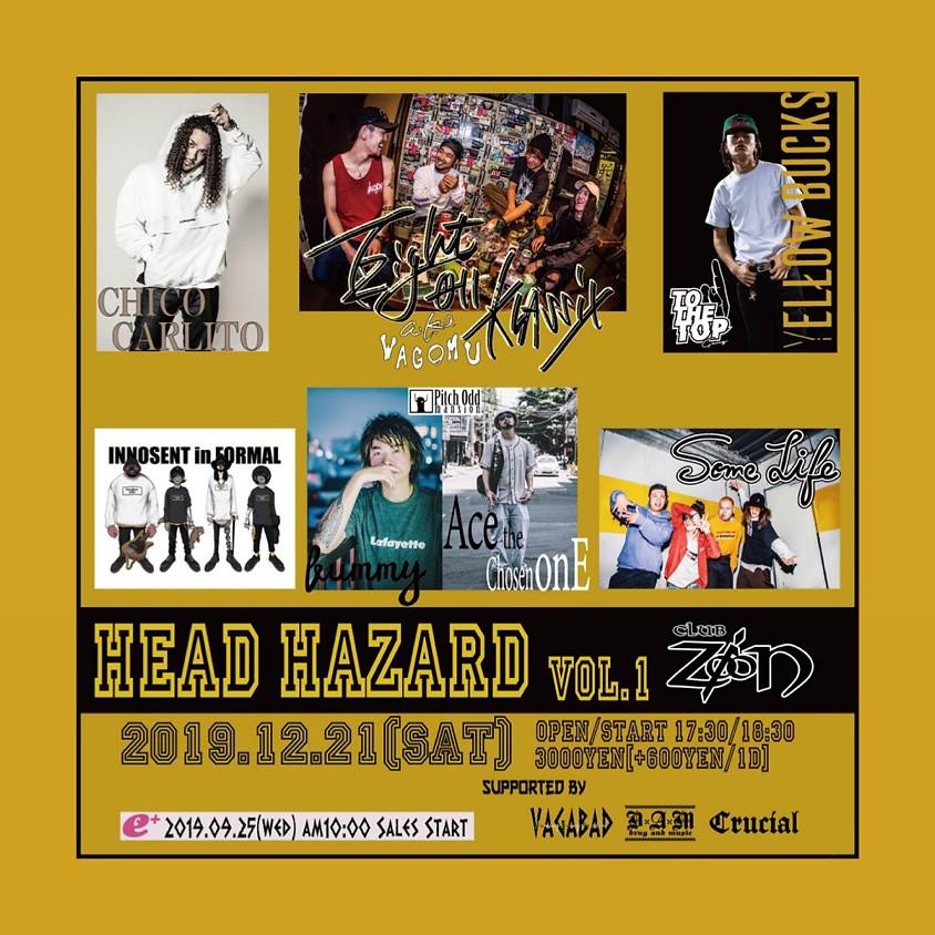 HEAD HAZARD 名古屋