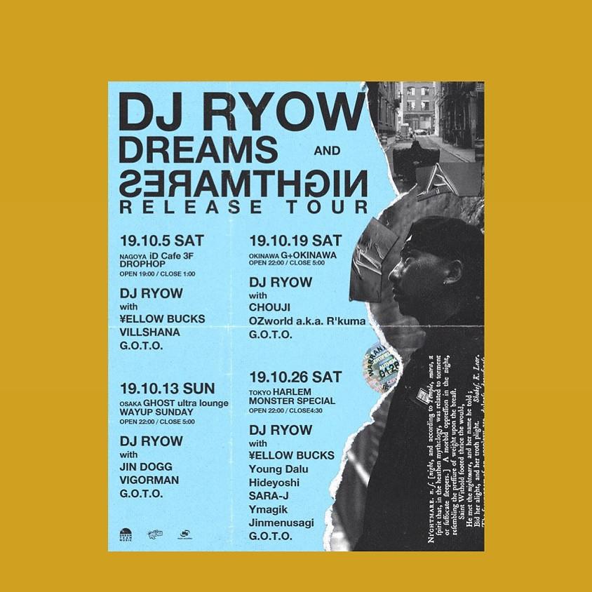 DJ RYOW RELEASE TOUR