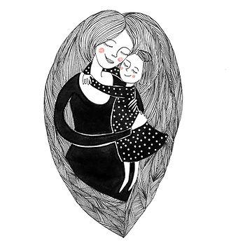 """Clemence de Besombes """"Les Florissantes"""" parentalité maternité """"illustration jeunesse"""""""