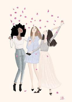 """Lancome Clemence de Besombes """"Les Florissantes"""" """"Illustration mode"""" """"illustration beauté"""""""
