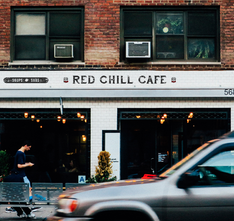 red chill signage