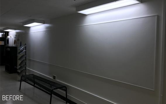 Hallway: Before