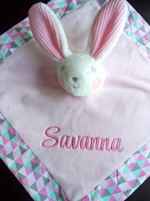 Copy of personalised baby comforter security blanket blankie bunny copy of personalised baby comforter security blanket blankie bunny rattle personalised gifts baby gifts dog gifts christmas gifts australia negle Choice Image