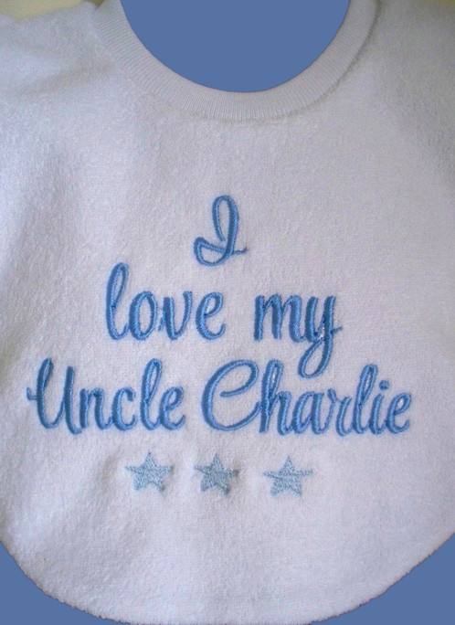 Personalised baby bib message personalised gifts baby gifts perfect gift for new baby and keepsake negle Image collections