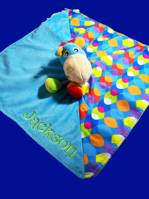 Personalised baby comforter security blanket blankie horse personalised baby comforter security blanket blankie horse personalised gifts baby gifts dog gifts christmas gifts australia negle Gallery