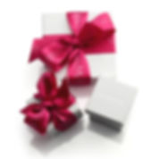 gift wrapped jewellery boxes by Kate Smith Jewellery Design