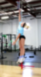 Vertical Jump testing and training at OTE