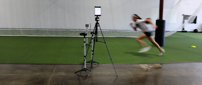 Pro-Agility with lasers