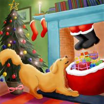 Retriever Christmas