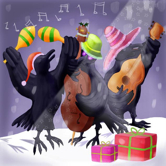 Crow Christmas