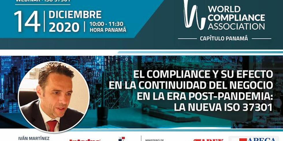 El compliance y su efecto en la continuidad del negocio en la era post-pandemia: La nueva ISO 37301