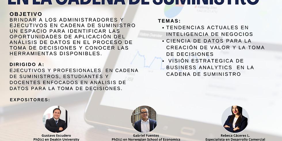 Business Analytics  en la Cadena de Suministro