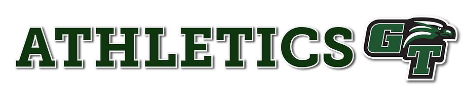Athletics. Image of Green Tech Eagles Logo