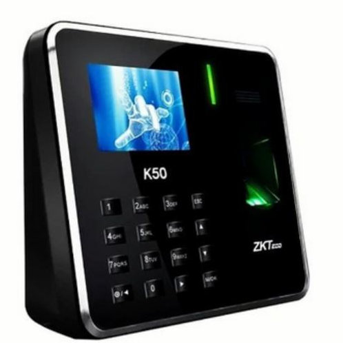 Biométrico ZKTeco-K50 /Huellas digitales/ Control de Acceso/batería de respaldo
