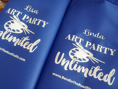 Art Party Unlimited Apron Customized