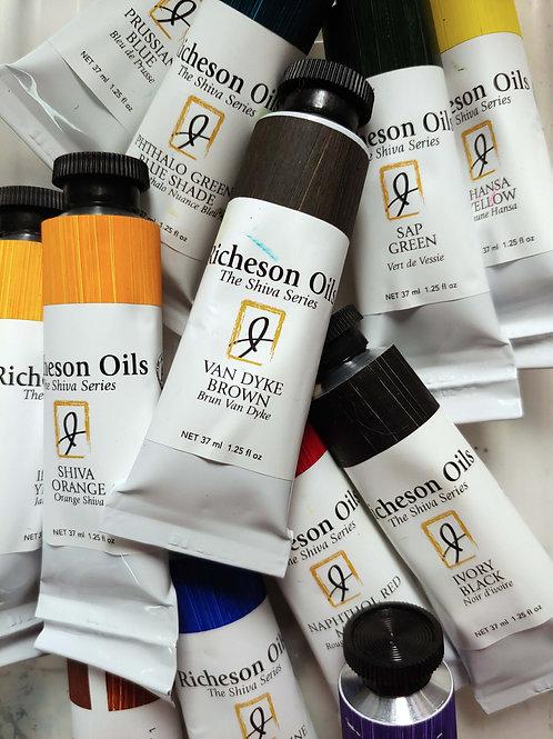 1.25 oz. Richeson Oil paints