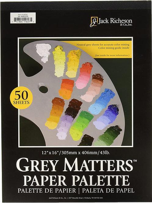 Paper Paint Palettes