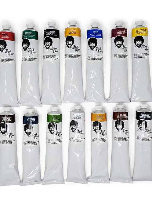 200mL Bob Ross Landscape Paints -