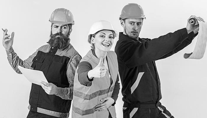 Contractor, Architect, Electrician