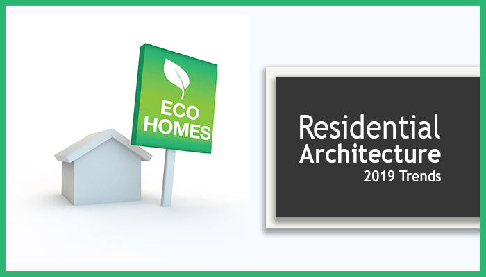Eco Homes image next to Residential Architecture Banner