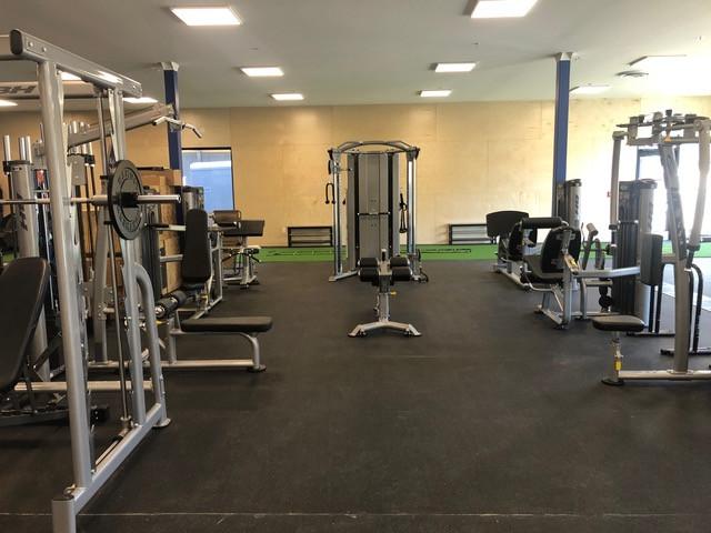 Weight Machine Area
