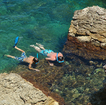 Snorkelling in Crystal-Clear Waters