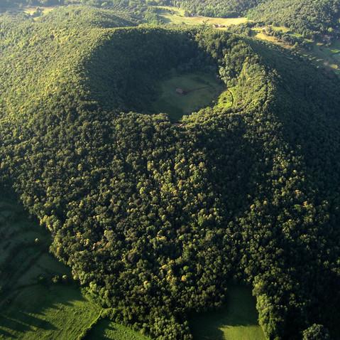 Bosques y volcanes en la Garrotxa