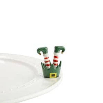 Nora Fleming Mini - Jingle Toes Elf