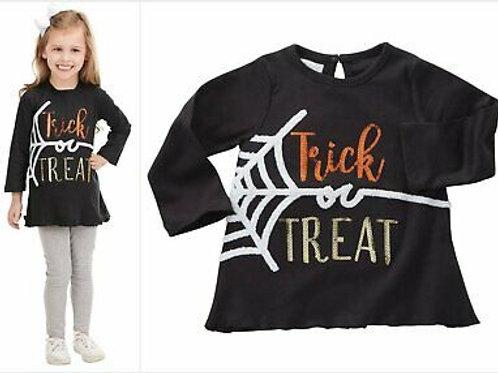 Mud Pie Trick or Treat Shirt