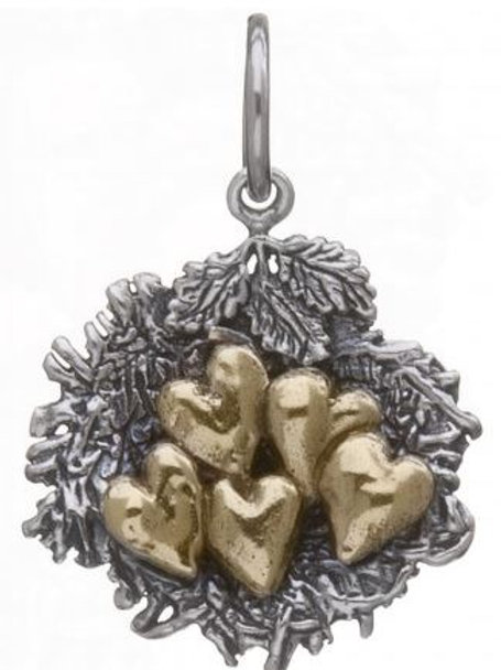Bundled by Love Nest Charm - 5 Hearts