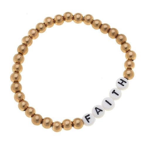 Caterina Faith Gold Bracelet
