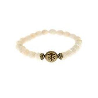 Beaded Bracelet Ivory