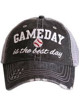 Gameday is the Best Day Baseball Trucker Hat