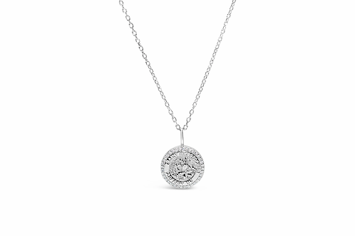 St. Christopher Pave Icon Necklace