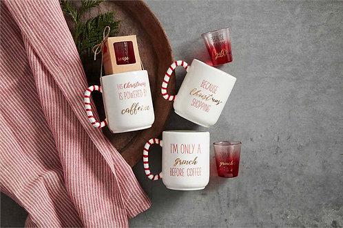 Holiday Mug & Shot Glass Set
