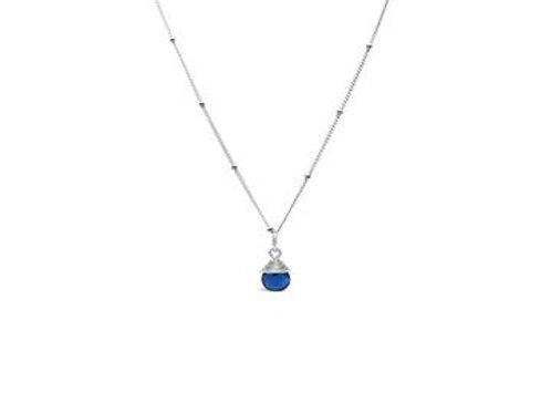 Precious Wraps London Blue Necklace
